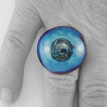 Bague-ceramique-argent-rhodie-bleu
