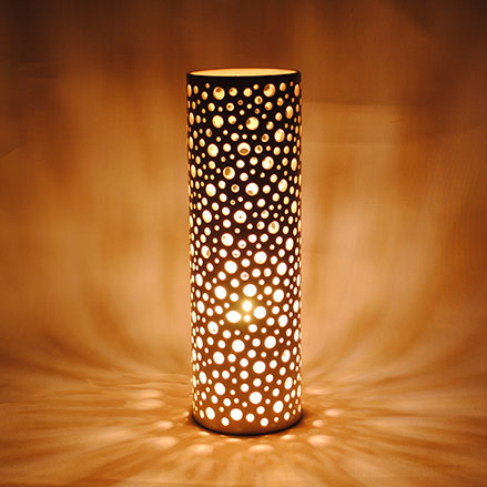 Cylindre-lampe-faïence