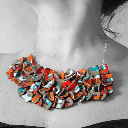 Collier-Céramique-Angela Campanile